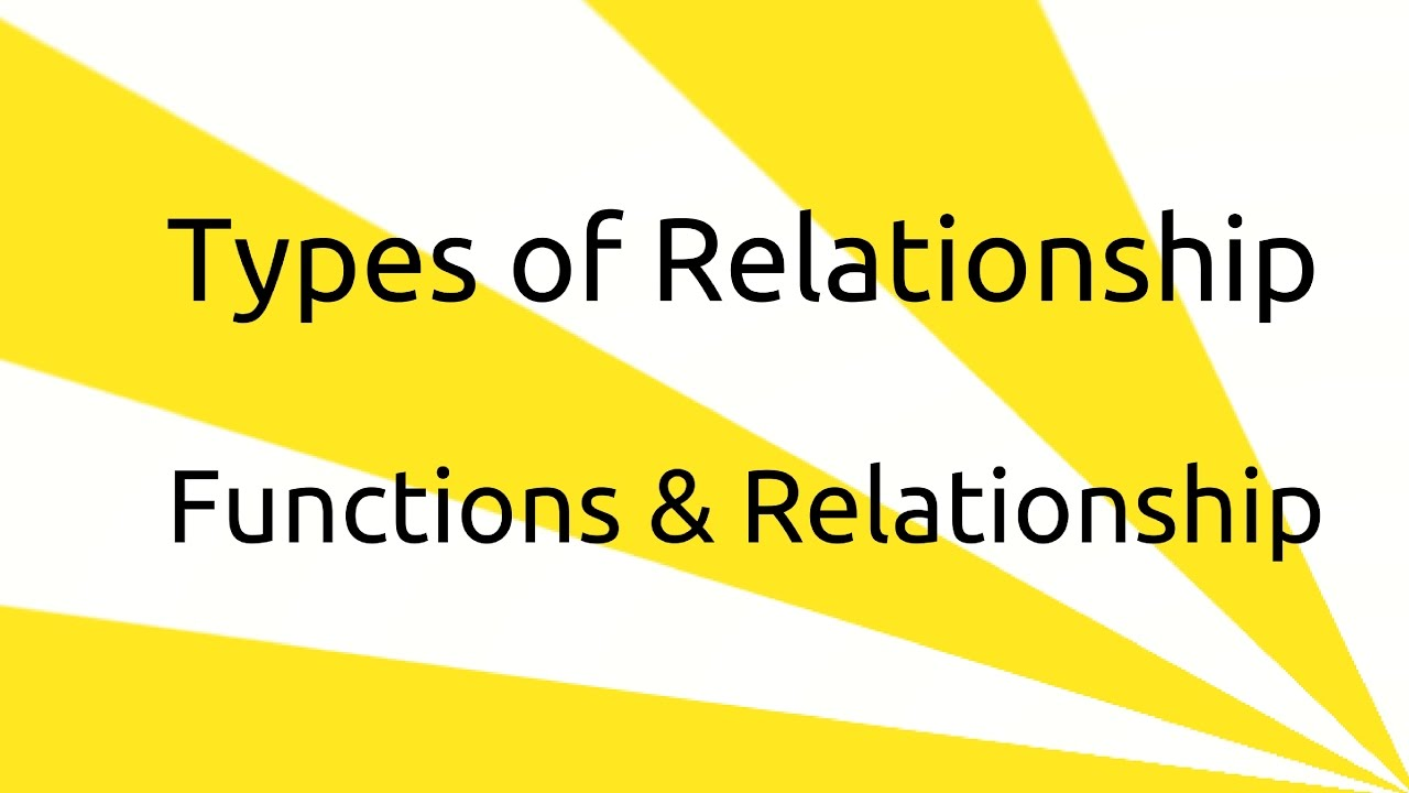 types of relationship set function relationship venn diagram ca cpt cs cma class 11 [ 1280 x 720 Pixel ]