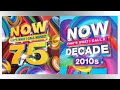 Now 75 and decades 2010s Review coming soon!!
