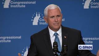 Vice President Pence Reacts to Democrats' Debate