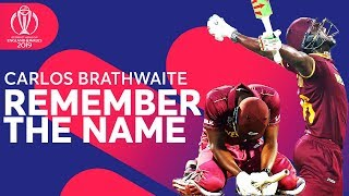 "Carlos Brathwaite - ""REMEMBER THE NAME"" 
