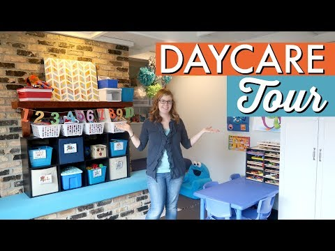 In-Home Daycare Tour: WINTER 2017