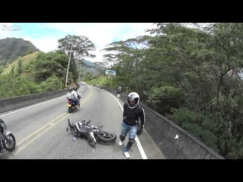 Columbian Motorcycle accident