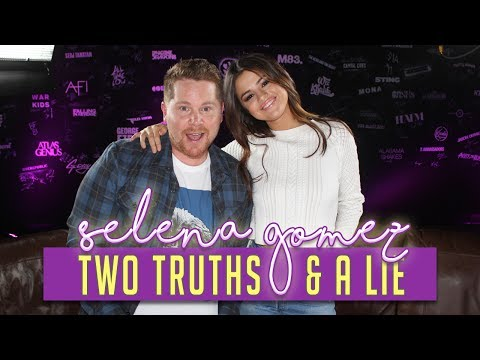 Selena Gomez Plays Two Truths & A Lie with 97.1 AMP Radio