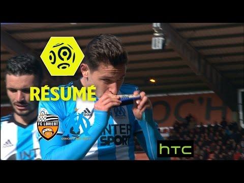 FC Lorient - Olympique de Marseille (1-4)  - Résumé - (FCL - OM) / 2016-17