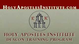 Deacon Training Program at Holy Apostles