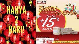 Festival Cap Go Meh 2020 @interio Bandung #interiohomefurnishings