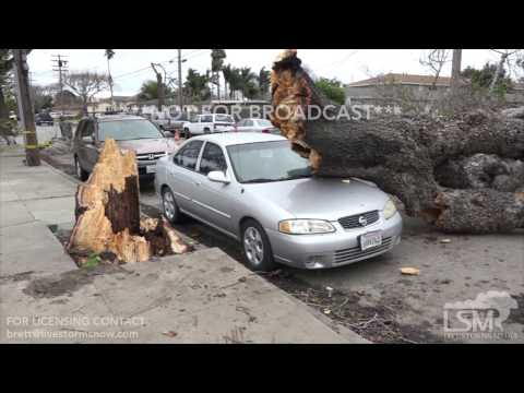02-19-2017 Salinas, California Major Storm Damage and Cleanup