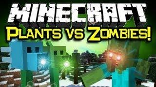 Обзор Мода Minecraft Зомби Против Растений (Plants VS Zombes!) №58
