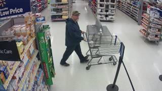 AMBER Alert Suspect: Tad Cummins (Surveillance Video 2)