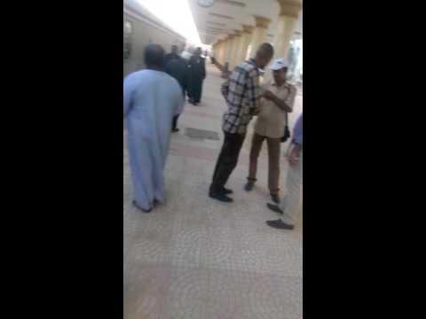 Luxor train station chaotic scenes
