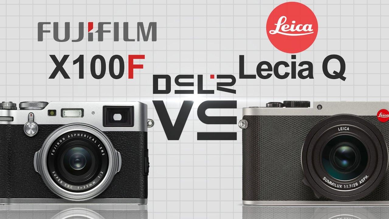 FujiFilm X100F vs Leica Q (Typ 116)