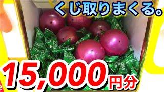 15,000円くじキャッチャーやって出口パンパンにしましたw 衝撃の結末に!?