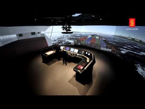 Polaris ships bridge simulator - Kongsberg Digital