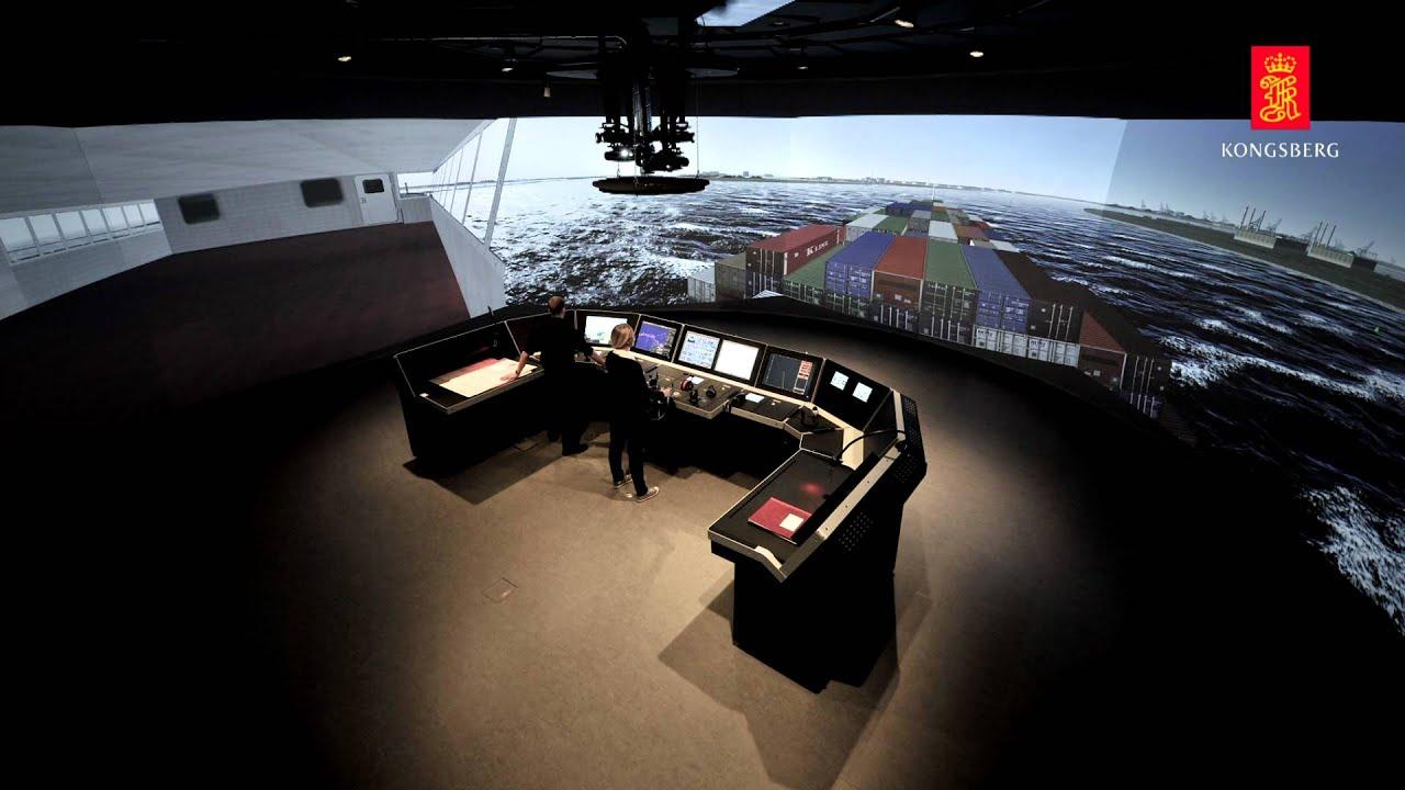 Polaris Ships Bridge Simulator Kongsberg Digital Youtube