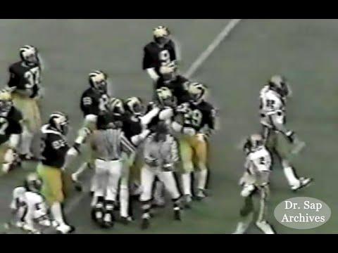 1980 Purdue Michigan Six Penny Defense