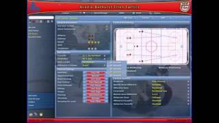 NHL Eastside Hockey Manager 2007 PC 2006 Gameplay