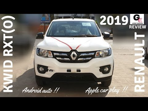 2019 Renault Kwid RXT(O) 🔥🔥   Android Auto   Apple car play   ABS   Airbag   review   price !!!!