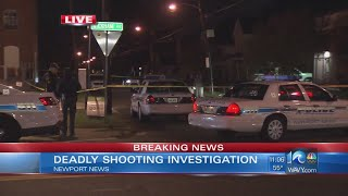 Police investigate two shootings in Newport News; one fatal