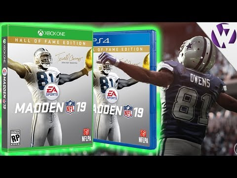 TERRELL OWENS ON MADDEN 19 COVER! CUSTOM UNIFORMS IN MUT 19!