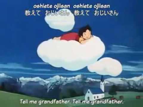 Heidi Cartoon Series Intro with English subtitle