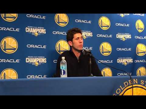 Bob Myers explains why the Warriors didn't make a move at the trade deadline