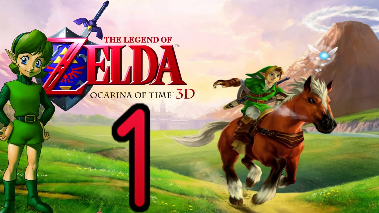 Let S Play The Legend Of Zelda Ocarina Of Time 3d Part 1 Bose