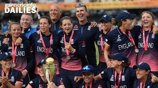 Dailies: England women top ICC rankings