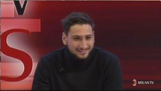 Donnarumma - Intervista MilanTv