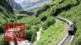 Video Flam: The most beautiful train journey in the world? BBC News download MP3, 3GP, MP4, WEBM, AVI, FLV Agustus 2018