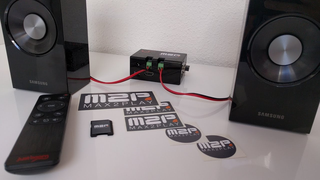 Max2Play JustBoom AMP - Raspberry Pi Audiophile Music Player