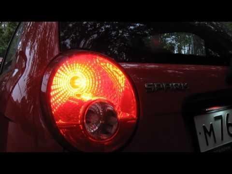 Дневной вид светодиодов от NeTuning.ru на Chevrolet Spark