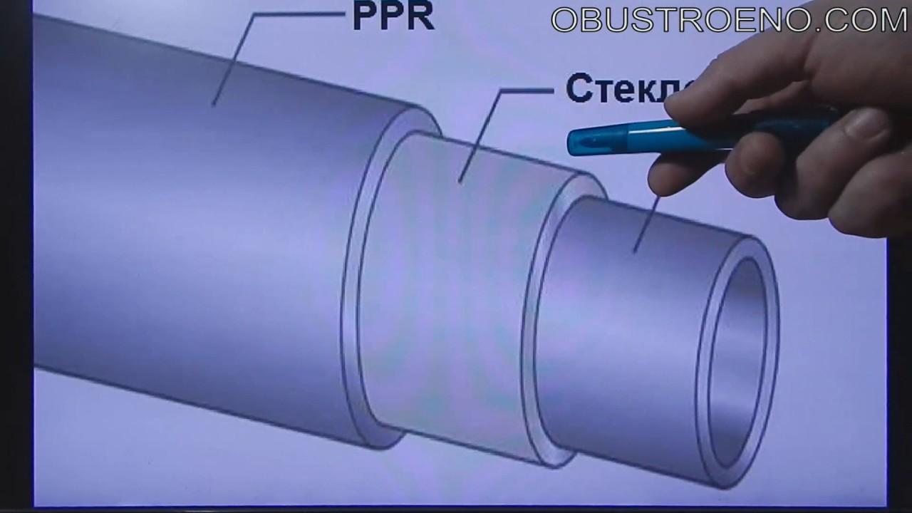 Как выбрать полипропиленовые трубы для отопления