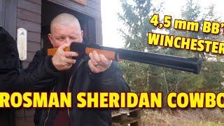 ✔ WINCHESTER BALLERFUN mit der Crosman Sheridan Cowboy: 4,5mm Stahlkugeln ☆ Marlin Cowboy