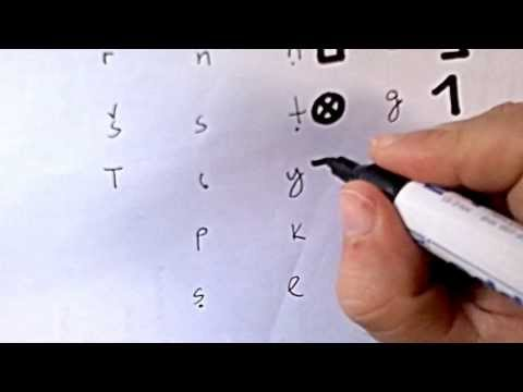 the Phoenician alphabet- το φοινικικό αλφάβητο