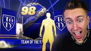 MY BEST TOTY - 98 RATED TOTY PACK OPENING