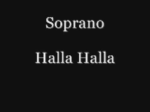 soprano halla halla
