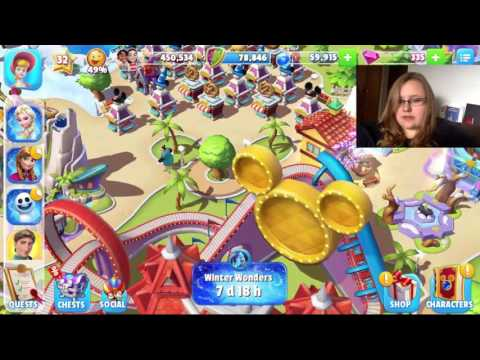 Airserver test and Disney Magic Kingdoms