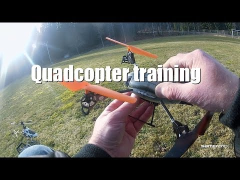QuadCopter training