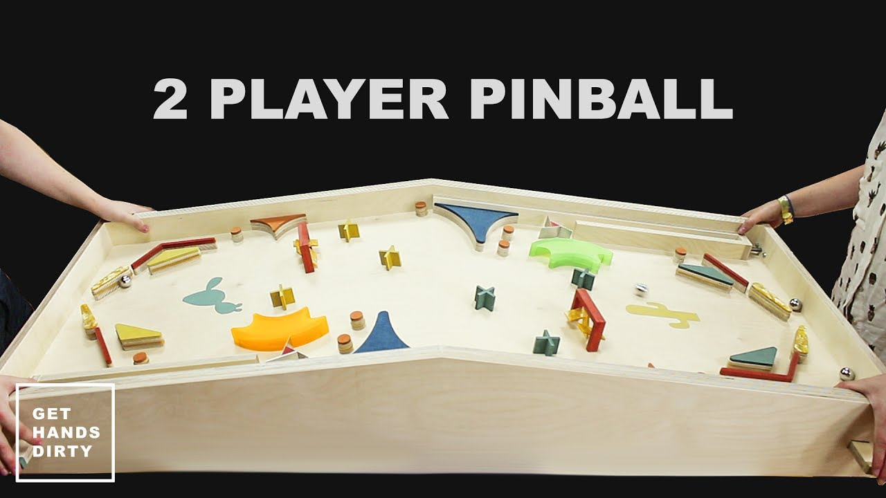 You Can Build This Awesome Two-Player Pinball Machine