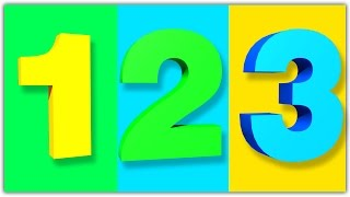 Numbers Song | Number Rhymes For Children | 123 Video For Kids