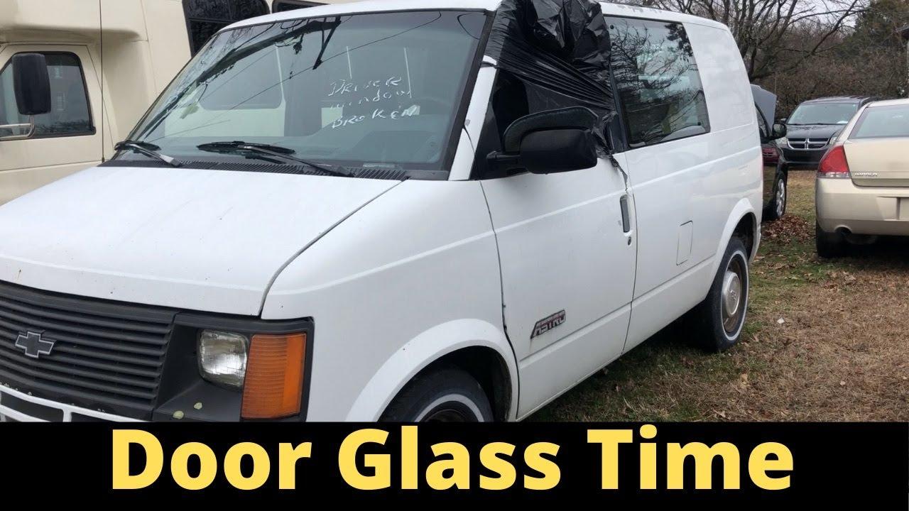 Chevy Astro Door Glass Replacement Youtube