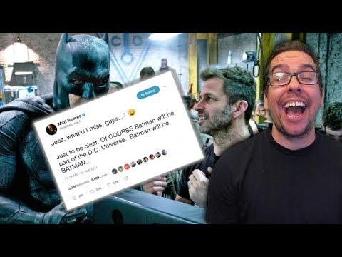 Matt Reeves Clears Up BatmanDCEU Rumors because He's tastic