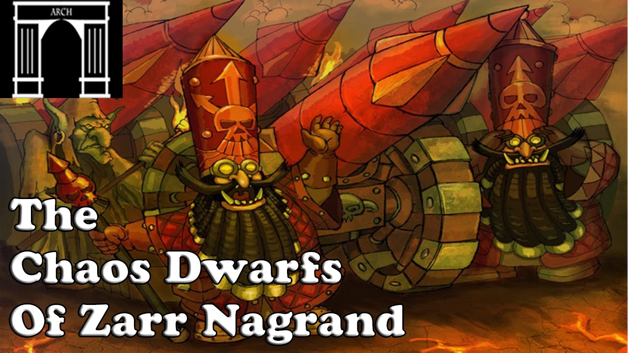 Possible Total War:Warhammer Factions The Chaos Dwarfs