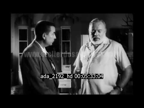 Rare Interview of Ernest Hemingway