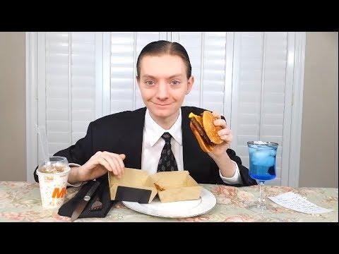 McDonald's NEW Bacon BBQ Burger Review!
