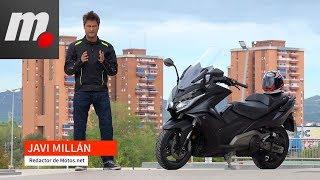 Kymco AK 550 | Prueba / Test / Review en español | motos.net