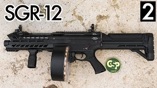 This Airsoft Shotgun Shoots 1800 Rounds Per Minute - Tokyo Marui SGR-12