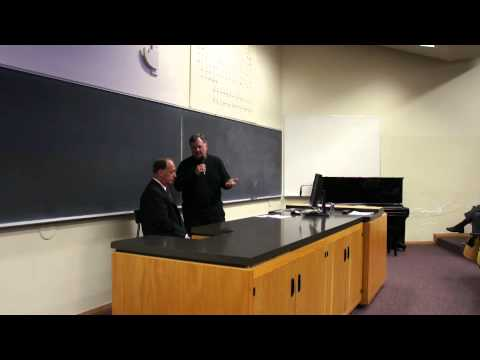 Colloquium Series: May 1, 2012 | Speakers Richard Pershing & Ken Stream