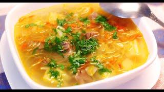 Как приготовить самые вкусные Щи из свежей капусты