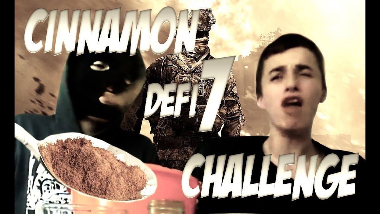 Les défis de SqueeZie | Episode 7 : Cinnamon Challenge | LE RETOUR !